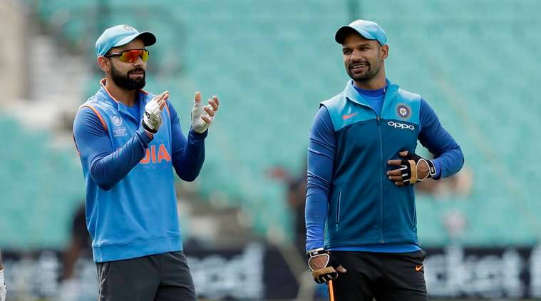 virat kohli, shikhar dhawan, bcci, bcci gross revenue, cricket, sports news, indian express