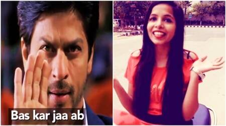WATCH: Shah Rukh Khan reacts after listening to Dhinchak Pooja's 'Dilon Ka Shooter'