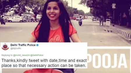 Dhinchak Pooja could be taken into custody by Delhi Traffic Police, and it's not for her singing