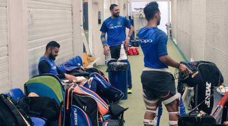 ICC Champions Trophy 2017: Rain forces India to practice indoors ahead of Pakistanclash