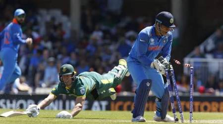 ms dhoni, dhoni, dhoni stumpings, ms dhoni stumpings, india vs south africa, icc champions trophy 2017, cricket news, cricket, sports news, indian express