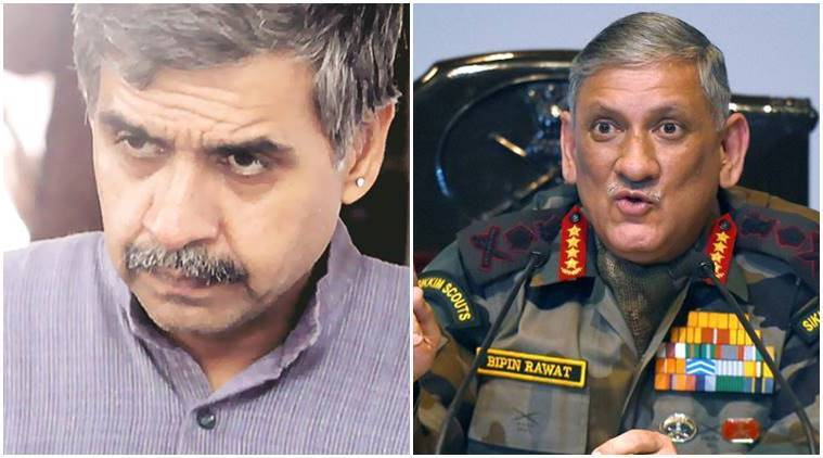 Sandeep Dikshit, Congress party, indian army chief, general bipin rawat, sadak ka gunda, india news, army news, indian express