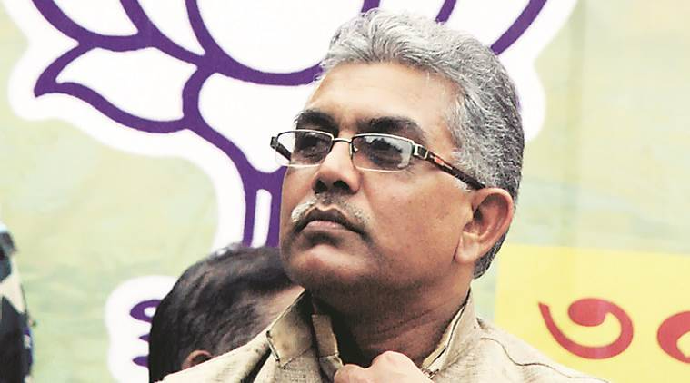 dilip ghosh, west bengal bjp chief, indian express