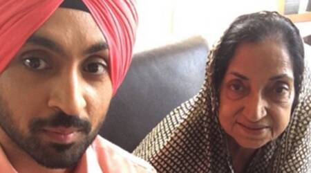 Diljit Dosanjh writes a heartfelt note for his mother, says 'My mom before my God'