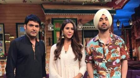 The Kapil Sharma Show: Diljit Dosanjh promotes Super Singh amid laughter, see photos