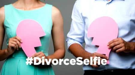 divorce, divorce selfies, selfie, divorce stress, divorce pictures, divorce selfie instagram, what is divorce selfie, indian express, lifestyle, indian express news