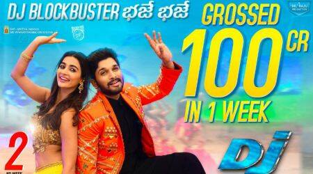 Duvvada Jagannadham or DJ box office: Allu Arjun film collects Rs 102 crore in first week