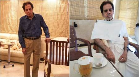 Dilip Kumar takes wife Saira Banu's advice and feels comfortable. Here's how, see photo
