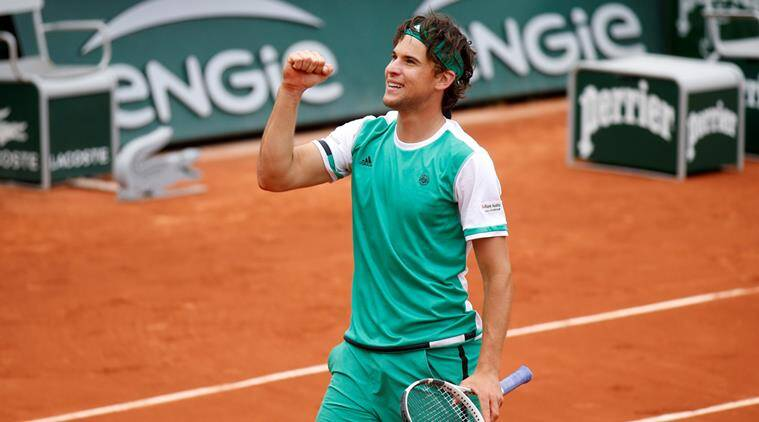 french open, dominic thiem, tennis news, indian express