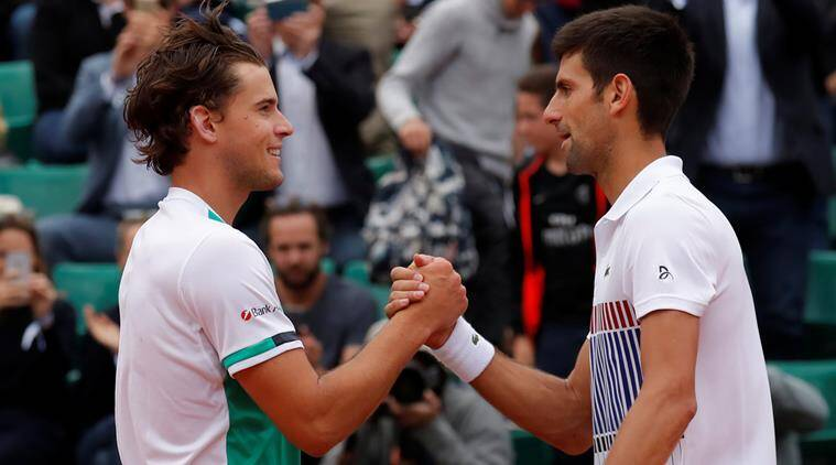 French Open 2017: Dominic Thiem upsets reigning champion Novak Djokovic