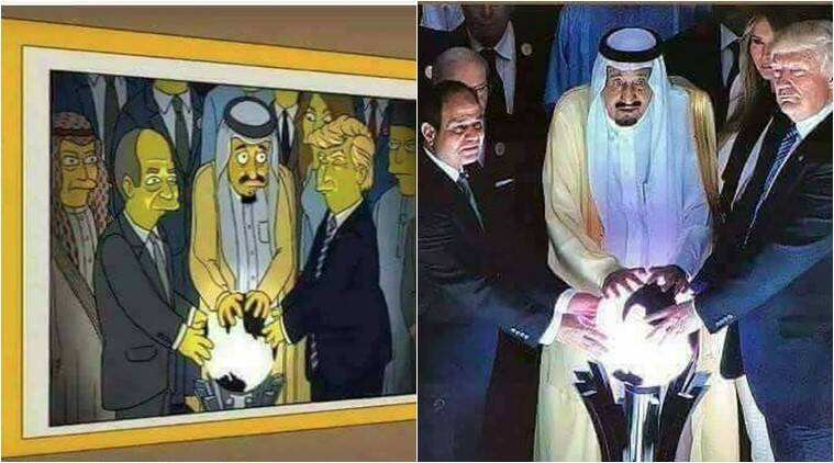 donald trump, donald trump simpsons compariosn, donald trump simpsons latest, donald trump simpsons latest, indian express, indian express news