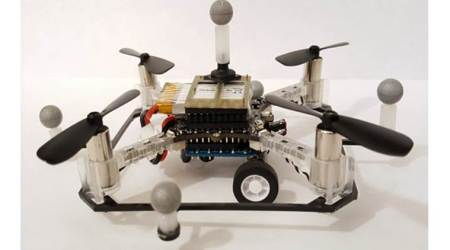 New robotic drones can travel by land and air