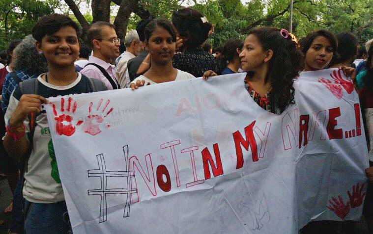 #notinmyname, protest, march