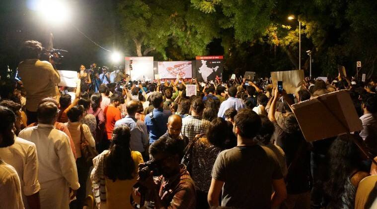 jantar mantar protest, notinmyname, not in my name protest, minority lynchings