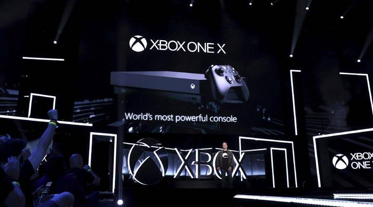 Microsoft Xbox One X Launched At E3 Aimed At Hardcore Gamers