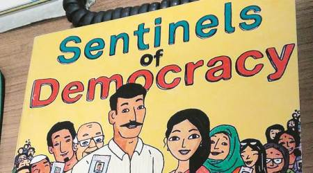 EC comic on poll process draws out lone voter in Gir forest, other tales