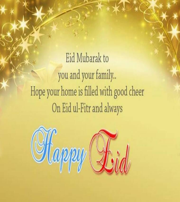 Eid mubarak whatsapp sms facebook greetings to wish your loved eid mubarak source newswallpaperhd m4hsunfo