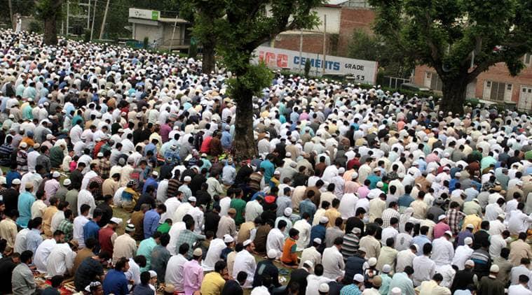 Eid, Eid 2017, eid kashmir, kashmir eid, J&K eid, Eid-ul-Fitr, eid celebration, J&K unrest, kashmir violence, indian express news, india news