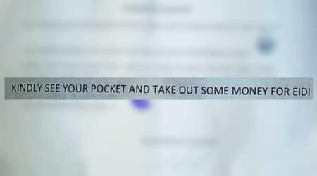 This Pakistani chowkidar's letter demanding a generous Eidi has left everyone insplits