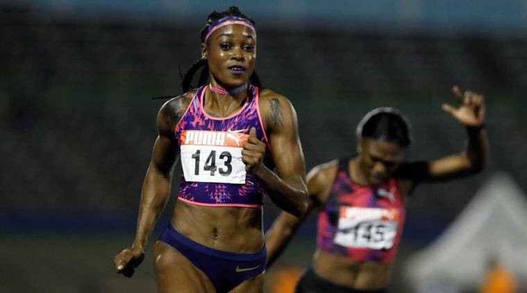 Elaine Thompson, Elaine Thompson races, Indian Express