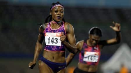 Elaine Thompson, Elaine Thompson races, Indian Express