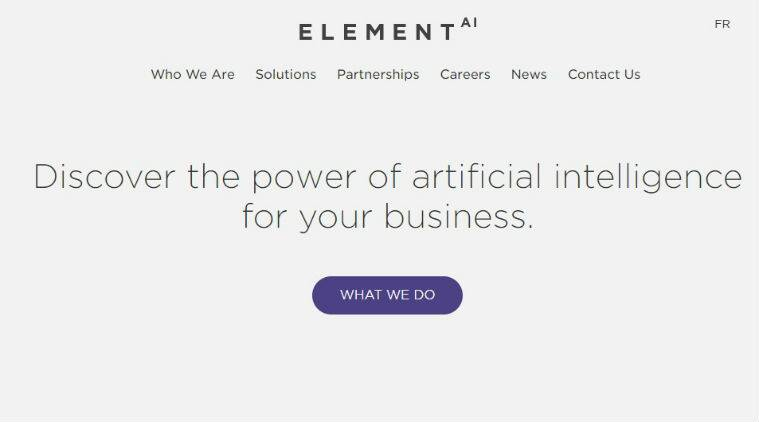 Microsoft, Nvidia, Intel, AI Startup Element AI, Microsoft Ventures, big AI projects, AI startups