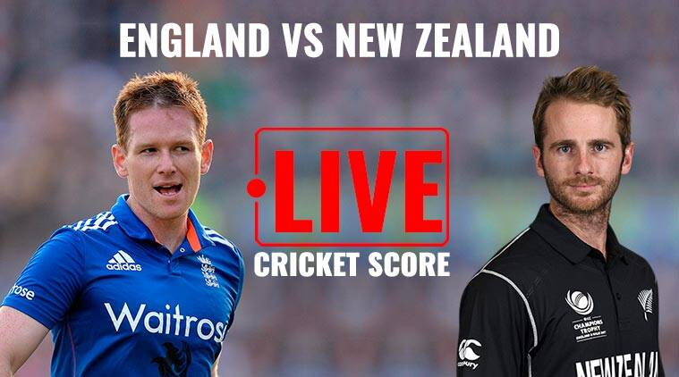 england vs new zealand live score, eng vs nz live score, eng vs nz live streaming, live cricket score, icc champions trophy 2017, kane williamson, cricket news