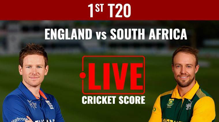 england vs south africa live score, eng vs sa live score, live eng vs sa first t20, live england vs south africa 1st t20, cricket news, cricket, sports news, indian express