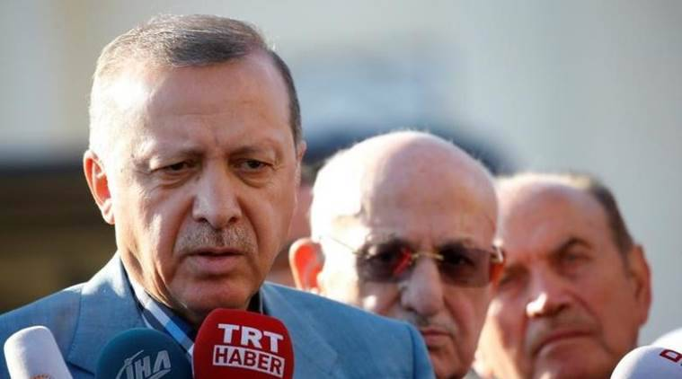 recep tayyip erdogan, G20 summit, nato, erdogan bodyguards attack, turkey news, world news, indian express news