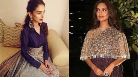 Esha Gupta and Aditi Rao Hydari's desi styles give a modern twist to traditional wear