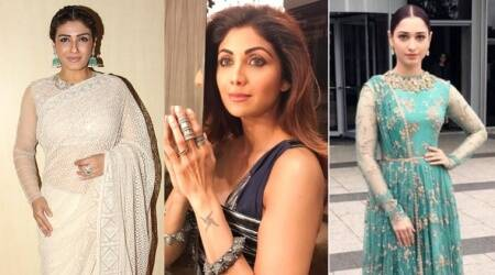 Shilpa Shetty, Tamannaah Bhatia, Raveena Tandon show us how to do summer ethnic looks in style