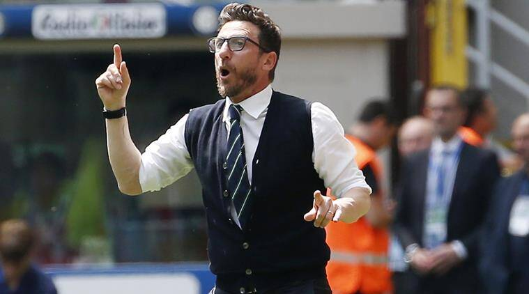 Eusebio Di Francesco, Eusebio Di Francesco coach, Indian Express