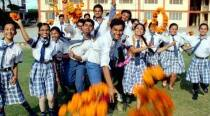 Bihar Board 10th result out, students celebrate with flower, colours and cakes
