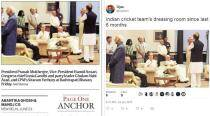 Express photo from Pranab Mukherjee's Iftar party spawns viral memes; what's your best caption?
