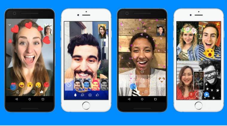 Facebook, Facebook Messenger, Messenger video chat, masks for Messenger video calls, animated reactions for Messenger video calls