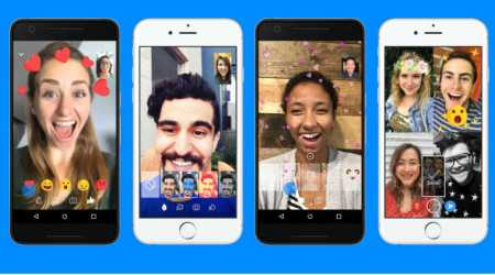 Facebook Messenger video chats get animated reactions, filters, and masks