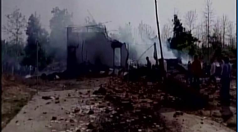 balaghat, balaghat factory fire