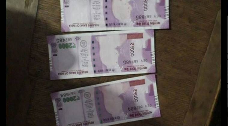 Cattle herder, Fake currency seized, cattle herder arrested, Indian express news, India news