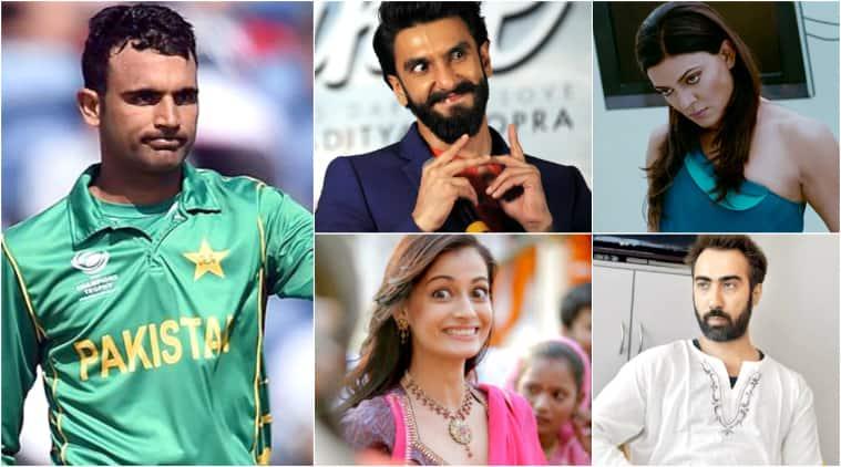 icc champions trophy 2017, india vs pakistan, ranveer singh, sushmita sen, dia mirza, boman irani, hansal mehta, abhishek bachchan, sidharth malhotra