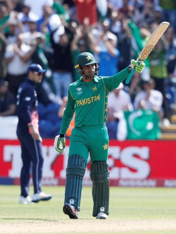 Pakistan vs England, Pak vs Eng, Hasan Ali, Rumman Raees, ICC Champions Trophy 2017, Cricket photos, Pak vs Eng photos, Indian Express