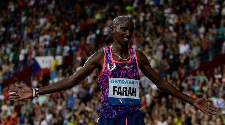 Mo Farah, London World championship, Thletics news, sports news, indian express