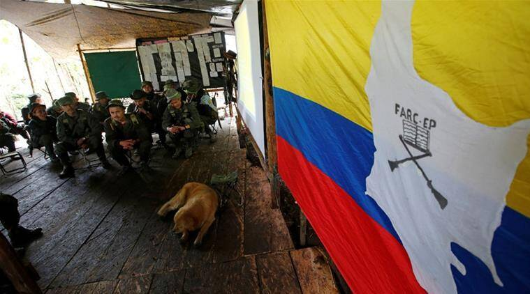 Colombia's FARC rebels, Colombia FARC Rebels, FARC Rebels, FARC Rebels Colombia, Colombia Marxist FARC Rebels, World News, Latest World News, Indian Express, Indian Express News