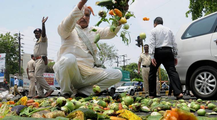Maharashtra farmers protest, Minimum support price, MS Swaminathan committee, agricultural crisis