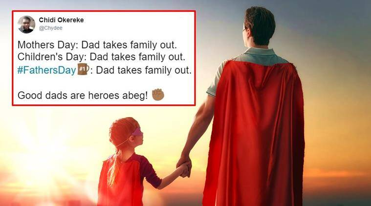 fathers day, fathers day 2017, happy fathers day, fathers day tweets, fathers day funny dads tweets, fathers day twitter reactions, fathers day funny tweets fathers, indian express, indian express news