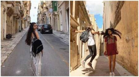 Fatima Sana Shaikh's Thugs of Hindostan shoot in Malta is more like vacations. See photos