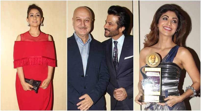 Manisha Koirala, anil kapoor, anupam kher, Dada Phalka Academy Awards 2017, Dada Phalka Academy Awards 2017 pics