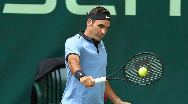 roger federer, sabr federer, sneak attack by roger, tennis news, sports news, indian express