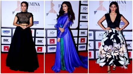 femina women awards, swara bhasker, athiya shetty, sophie choudry, amyra dastur, adah sharma, indian express, fashion, lifestyle, indian express news