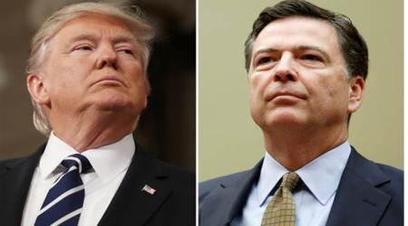 Donald Trump accepts he is under probe for firing FBI Director James Comey