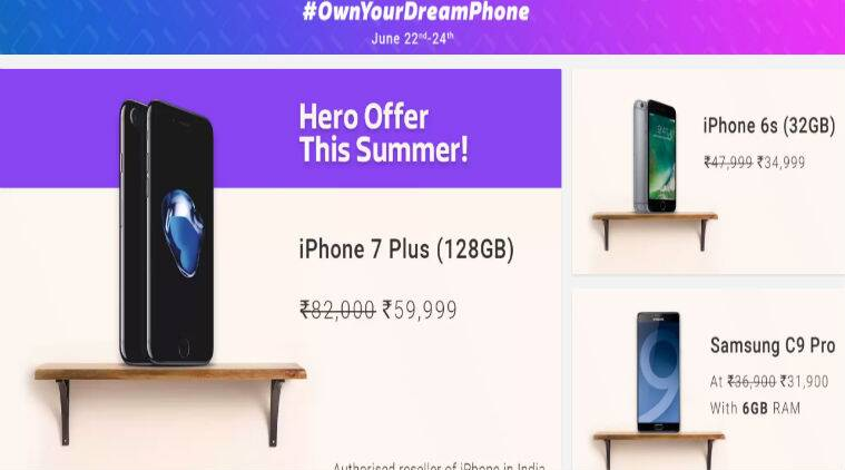 Flipkart Own Your Dream Phone sale, iPhone 5s, iPhone 6, iPhone 6s, iPhone 7, iPhone 7 Plus